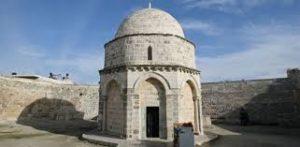 destinasi di yerusalem- kapel pengangkatan yesus