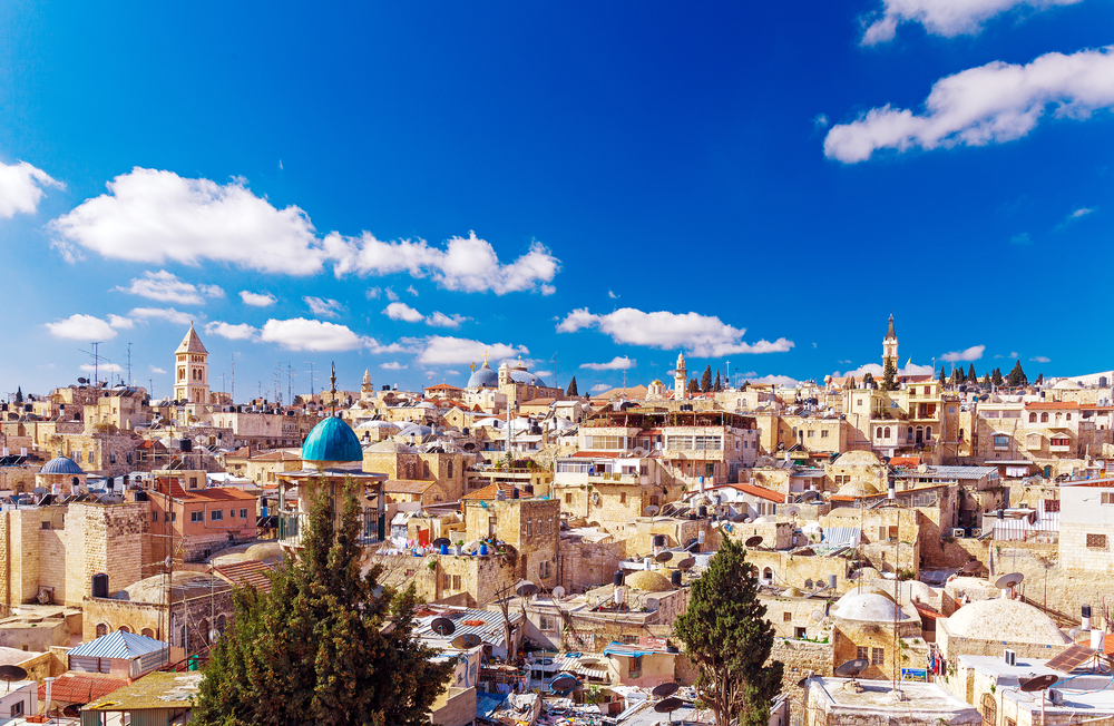 Destinasi di Yerusalem