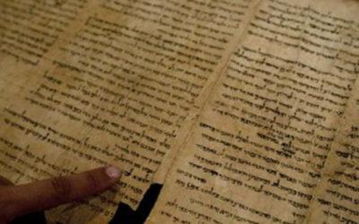 Sejarah Penemuan Gulungan Laut Mati