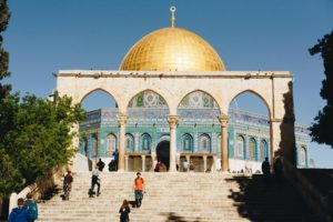 tempat ziarah di israel- Golden Dome Mosque