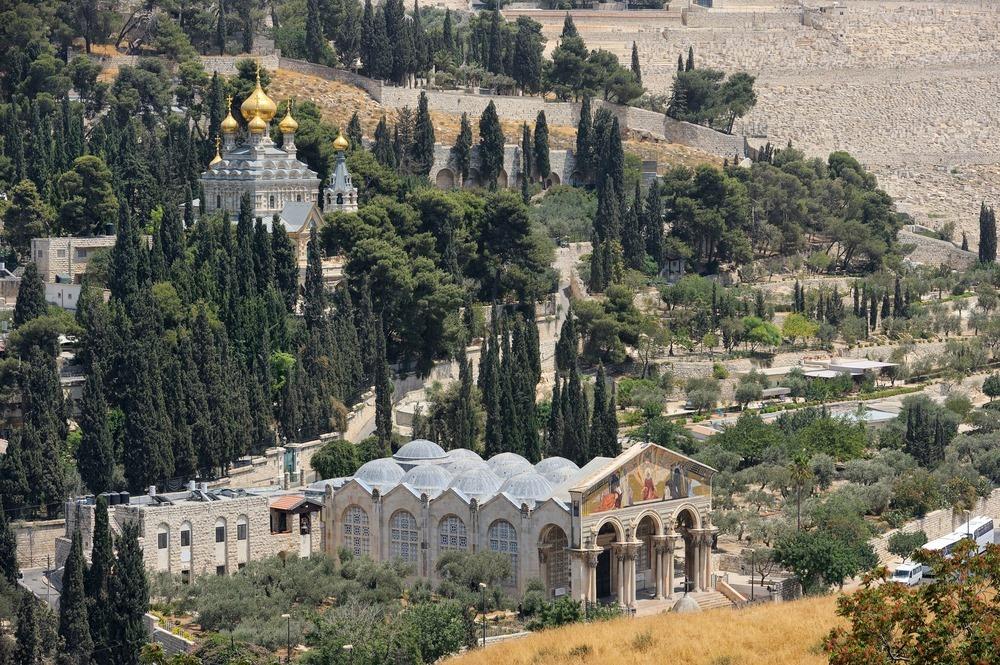 Bukit Zaitun- Tempat Kenaikan Yesus ke Surga