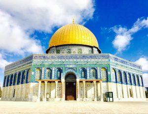 destinasi di yerusalem-dome of rock