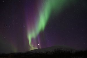 keindahan alam eropa aurora