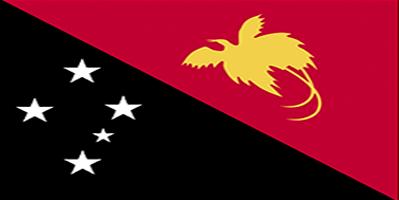 Papua Nugini Flag