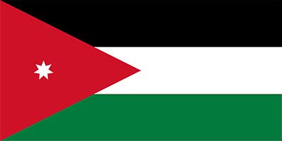 Yordania Flag